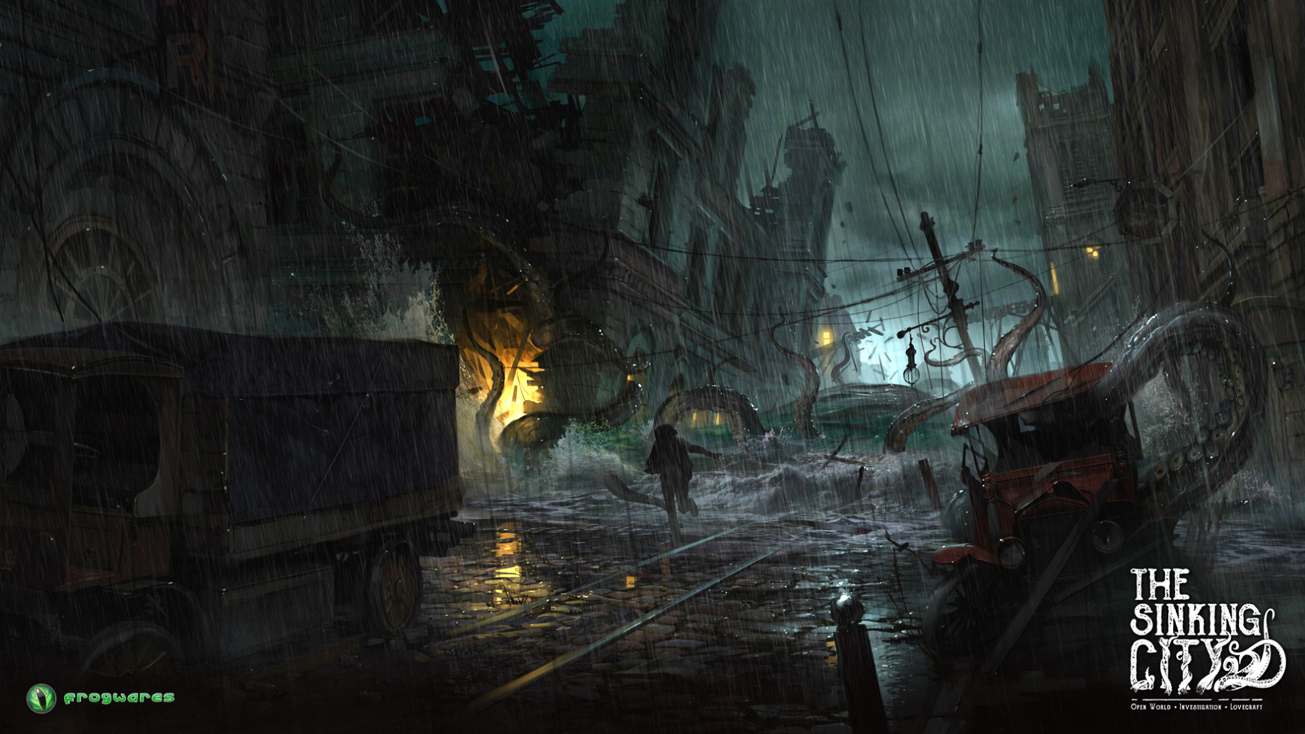 The Sinking City Gameplay trailer image 1