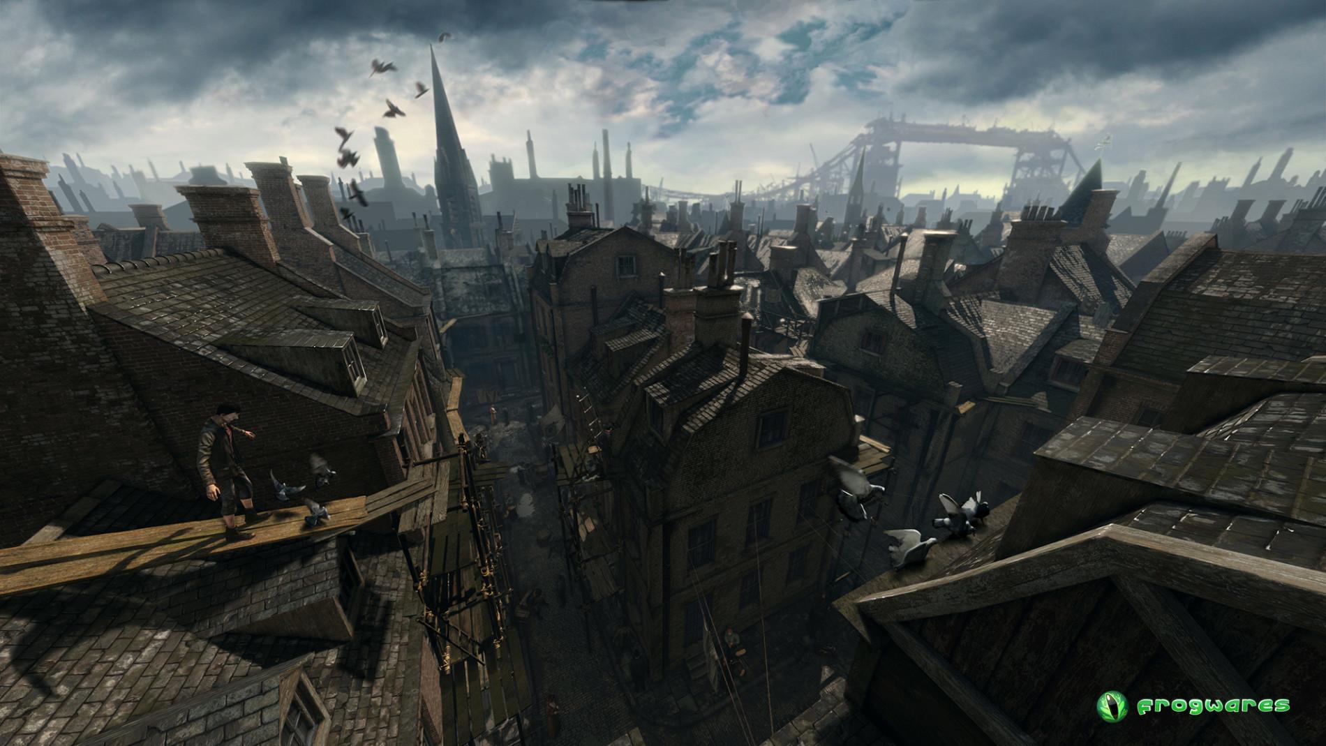Devil's Daughter Whitechapel roofs