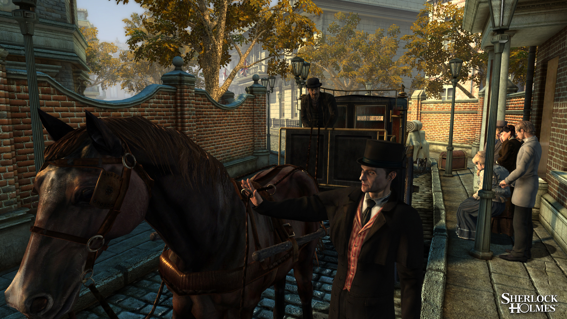 Elementary! New Images of The Testament of Sherlock Holmes ...