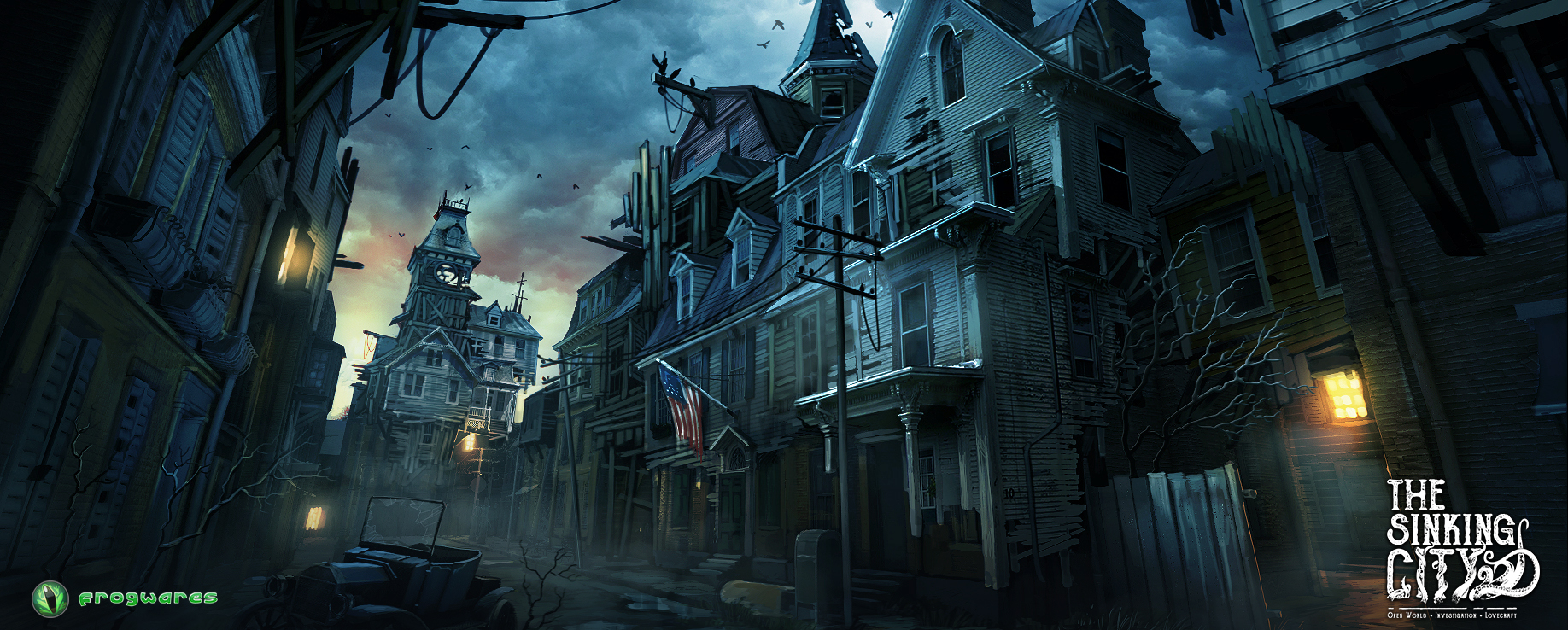 Urban Planning for Lovecraftian Horror: The First Steps