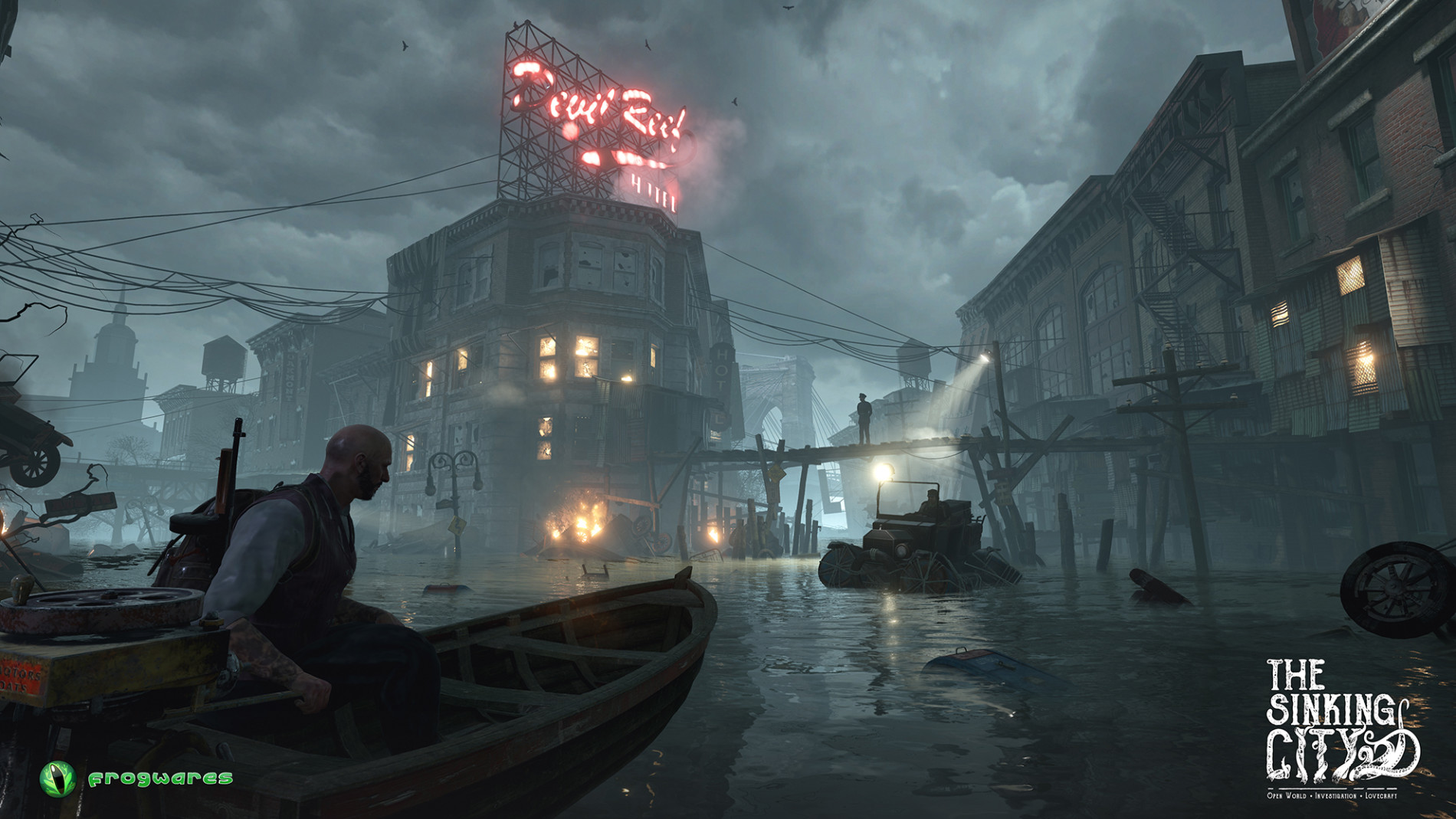 The Sinking City Gameplay image 2