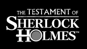 The Testament of Sherlock Holmes logo
